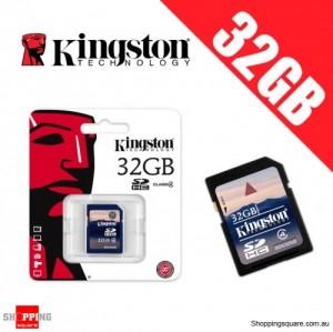 Kingston 32GB SD SDHC Memory Card Class 4 High Speed