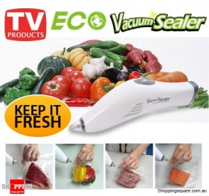Original Eco Vacuum Sealer Keeping your Food fresh for much Longer