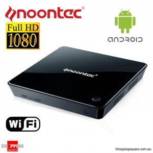 Noontec A9 Android Smart TV Box, Built-in Wi-Fi, Android 2.3 ,Online Video Playback