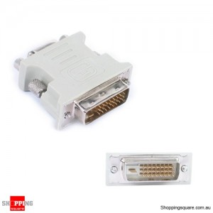 DVI-D M TO VGA F Converter Adapter For HDTV LCD