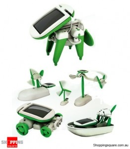 6 In 1 Educational Solar Toy Kit