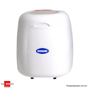 Ice Cube Maker Machine-White Automatic 2.0 Litres Capacity