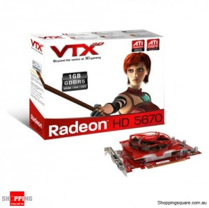 VTX ATI Radeon HD5670 DVI/HDMI 1GB Video card