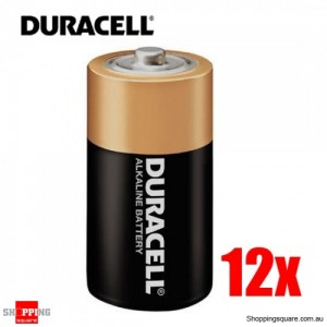 Duracell Coppertop Bulk D Battery Pk12