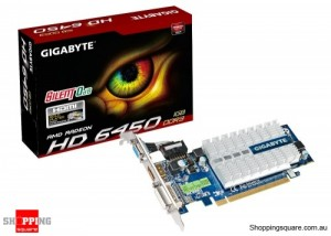 Gigabyte HD 6450 1GB Video Card, HDMI, DVI