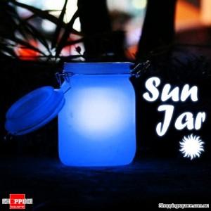 Solar Sun Jar Powered Lamp