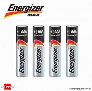 4x Energizer Max Alkaline AAA Battery