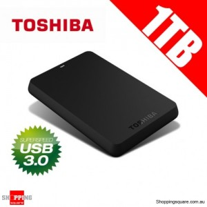 Toshiba 1TB Canvio USB 3.0 Portable External Hard Drive HDD