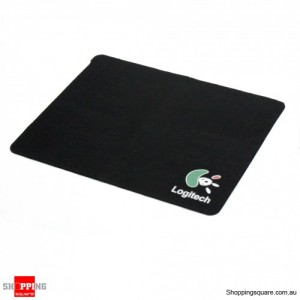 Logitech Mouse Pad for Optical and Laser Mouse - Black