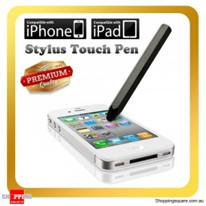 Black Color Stylus Touch Pen For iPhone 6 Plus 5S 5C 5 iPad Air Samsung Galaxy