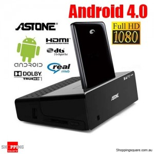Astone H200 Go Android 4.0 Smart TV Box with HD 1080P Media Player