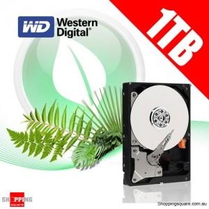 Western Digital 1TB Caviar Green Hard Drive, SATA 3, 64MB Cache