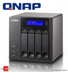 QNAP TS-419P II 4 Bay Hotswap NAS - Marvel 2.0Ghz, 512Mb DDRIII, iSCSI, 2 x eSATA, 4 x USB