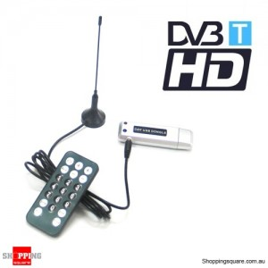 USB HDTV TV tuner DVB-T 4 Laptop & PC Record digital TV