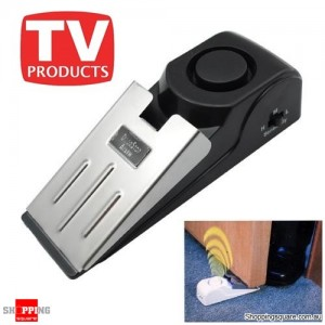 Safety Wedge And Security Door Stop Easy Alarm for Travel and Home