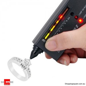 New V2 Diamond Test Tester Gemstone Jewelry Selector Tool LED + Audio