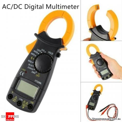 AC DC Digital Multimeter Electronic AC Clamp Meter
