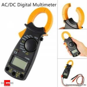 AC DC Digital Multimeter Electronic AC Clamp Meter