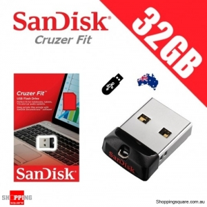 SanDisk Cruzer Fit 32GB CZ33 USB FLASH DRIVE