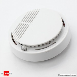 Photoelectric Smoke Fire Alarm with Silence Feature