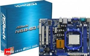 Asrock N68-S3-FX motherboard