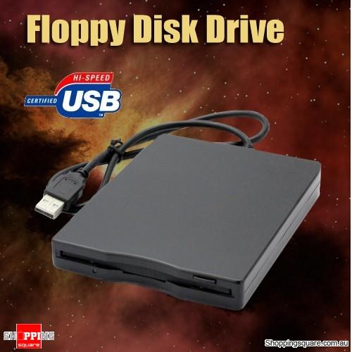 USB External Portable 1.44 MB Floppy Disk Drive FDD
