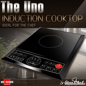 5 Star Chef Multi-Purpose Portable Induction Single Cooker Cooktop