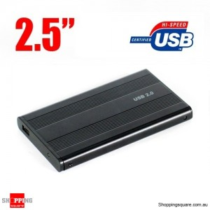 2.5 IDE USB 2.0 Hard HDD Drive External Enclosure Case