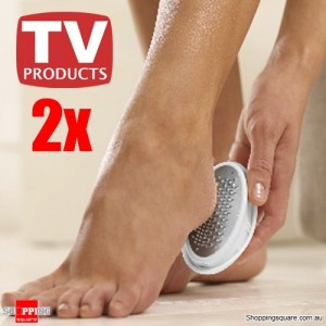 New 2 x Foot Care Ped Egg Pedicure Foot File