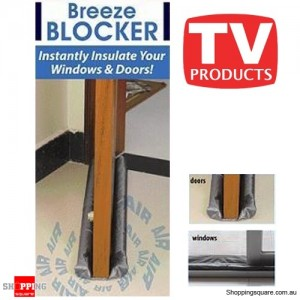 Twin Cold Breeze Blockers For Doors and Windows