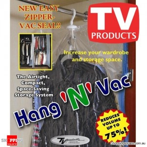Hang 'N' Vac- Airtight Compact Storage Bag