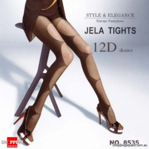 12D Jela Tights Legging TZ8535 - Black