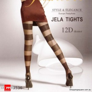 12D Jela Tights Legging TZ8536 - Black