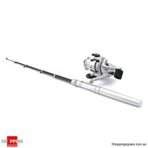 Travel Mini Pen Fishing Rod with Stainless-steel reel