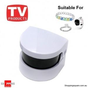Ultrasonic Sonic Cordless Jewellery Ring Watch Cleaner