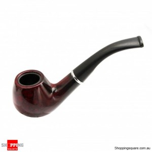 Wood-Texture Smoking Pipe Tobacco and Cigarettes Cigar Pipe