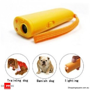 Ultrasonic Dog Bark Training Deterrent Device Repeller
