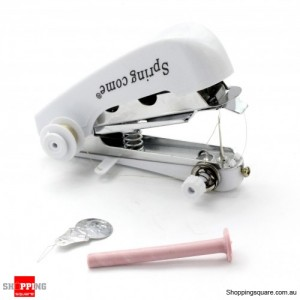 New Mini Handy Clothes Fabric Sartorius Sewing Machine Random Colour