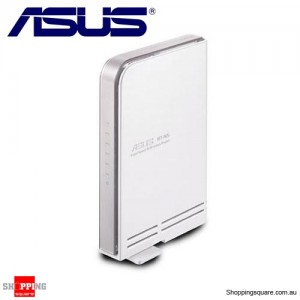 ASUS RT-N15 SuperSpeedN Gigabit Wireless Router 802.11n 300Mbps