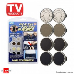 Packs of Perfect Fit Button Add an Inch to Ant Pants Waist N Seconds