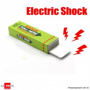 Safety Electric Shock Chewing Gum Toy