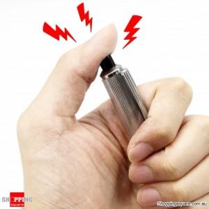Electric Metal Shock Pen Adult Joke Shocking Gag Prank Trick Funny Toy Gift New