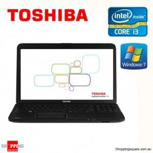 "Toshiba Satalite Pro C850 Intel i3 2350M 15.6"" Laptop Notebook"