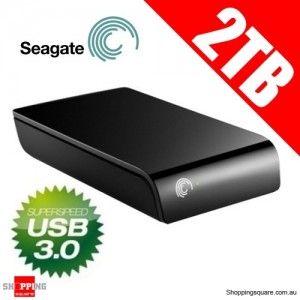 Seagate Expansion 2 TB USB 3.0 Desktop External Hard Drive