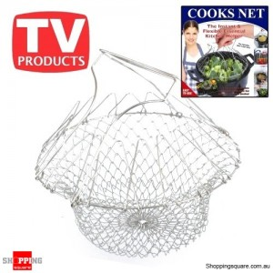 Perfect Cook Chip Basket Kitchen Chef Cook, Boil, or Deep