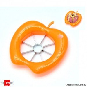 Corer Slicer Easy Cutter Cut Fruit Knife for Apple Pear Random Colour Pick