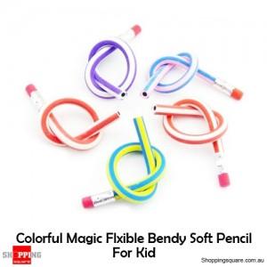 3x Colorful Magic Flexible Folding Bendy Soft Pencil Random pick
