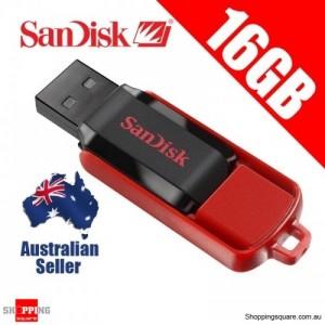 Sandisk Cruzer Switch 16GB USB Flash Drive- DS