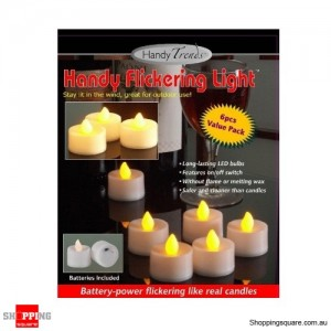 Handy Flickering Lights- Set of 6