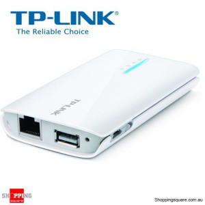 TP-LINK TL-MR3040 150Mbps Portable 3G/3.75G Battery Powered Wireless N Router